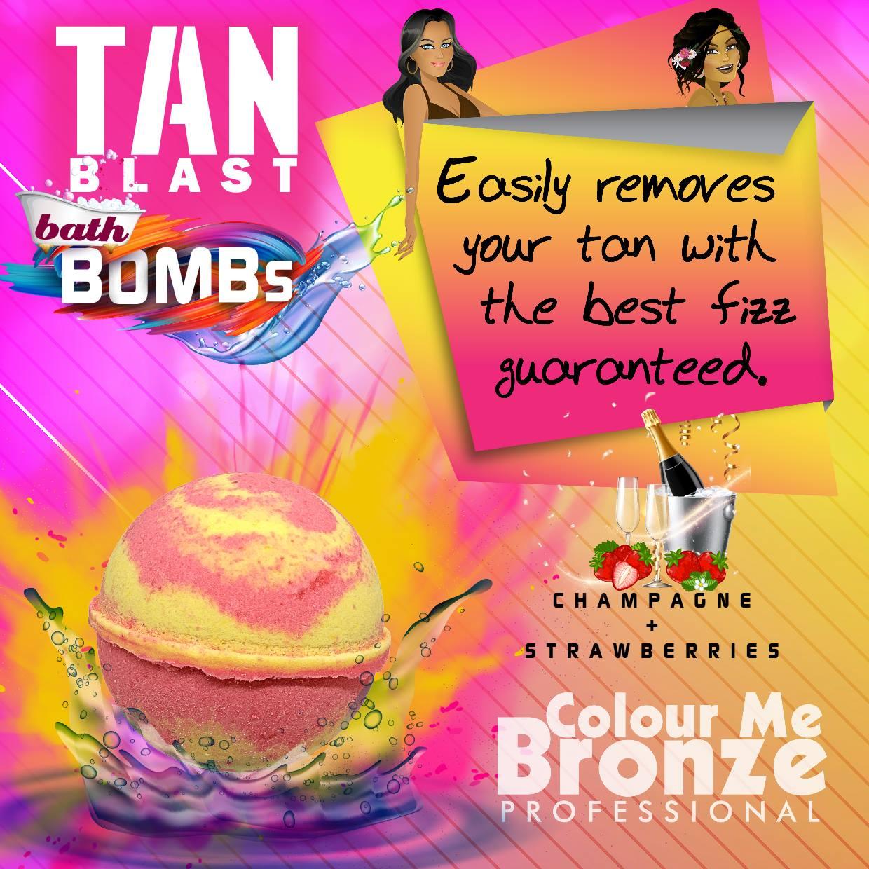 Colour Me Bronze Professional TANblast Bath Bombs