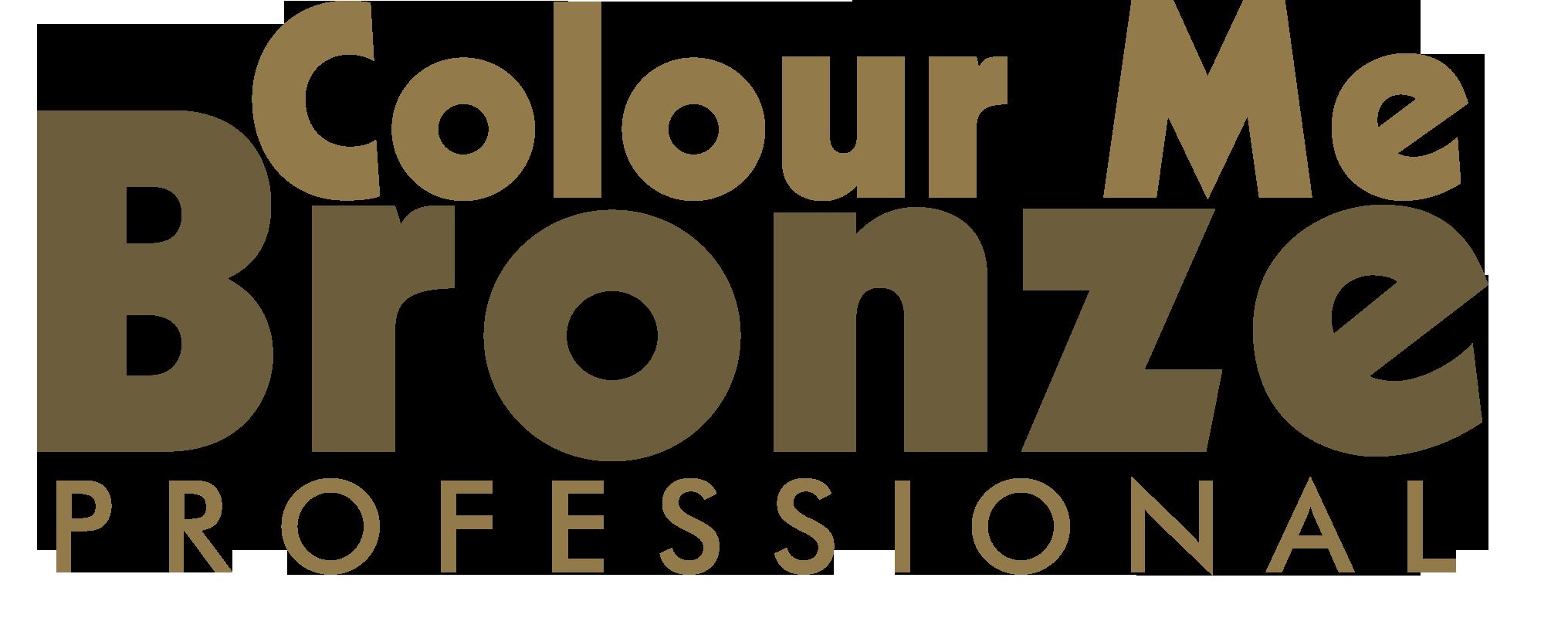 Colour Me Bronze Professional Logo