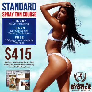 Colour Me Bronze Tanning Academy Standard Spray Tanning Course - New Zealand