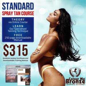 Standard Spray Tan Course NZ No solutions